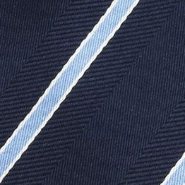 Young Men: Izod Accessories: Navy IZOD Stripe Tie