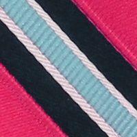 Interview Tie: Pink IZOD Stripe Tie