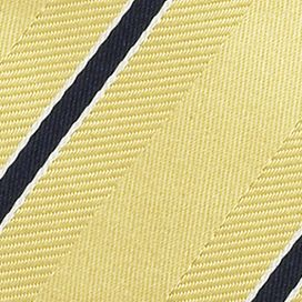 Interview Tie: Yellow IZOD Stripe Tie