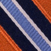 Interview Tie: Orange IZOD Stripe Tie