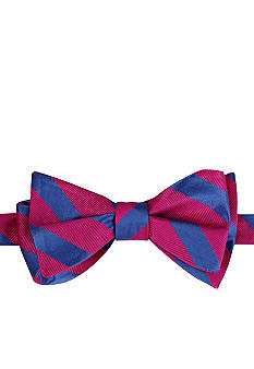 Izod Ranger Striped Bow Tie