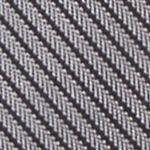 Interview Tie: Silver Calvin Klein King Cord Solid Tie