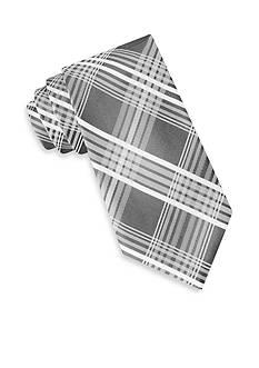 Calvin Klein Bianco Plaid III Tie