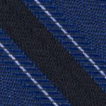 Interview Tie: Cobalt Calvin Klein FC Bar Stripe Tie