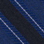 Mens Designer Ties: Cobalt Calvin Klein FC Bar Stripe Tie