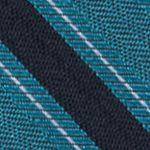 Mens Designer Ties: Teal Calvin Klein FC Bar Stripe Tie