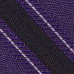 Mens Designer Ties: Lilac Calvin Klein FC Bar Stripe Tie