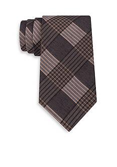 Calvin Klein Schoolboy Maxi Windowpane Tie