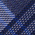 Mens Designer Ties: Cobalt Calvin Klein Schoolboy Maxi Windowpane Tie