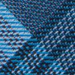 Mens Designer Ties: Aqua Calvin Klein Schoolboy Maxi Windowpane Tie