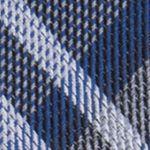 Mens Designer Ties: Navy Calvin Klein Gaphite Schoolboy Plaid Tie