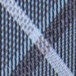 Interview Tie: Aqua Calvin Klein Gaphite Schoolboy Plaid Tie