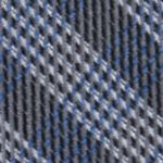 Mens Designer Ties: Charcoal Calvin Klein Mini Quad Gingham Tie