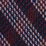 Mens Designer Ties: Copper Calvin Klein Mini Quad Gingham Tie