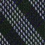 Mens Designer Ties: Forest Calvin Klein Mini Quad Gingham Tie