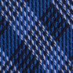Mens Designer Ties: Navy Calvin Klein Mini Quad Gingham Tie