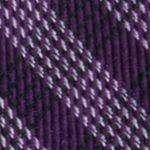 Mens Designer Ties: Purple Calvin Klein Mini Quad Gingham Tie