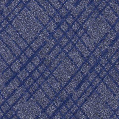 Mens Designer Ties: Silver Calvin Klein Broken Plaid Tie