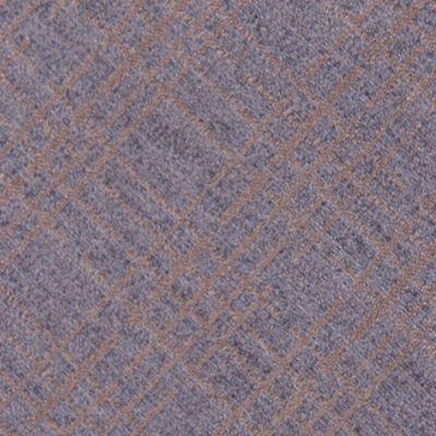 Mens Designer Ties: Taupe Calvin Klein Broken Plaid Tie