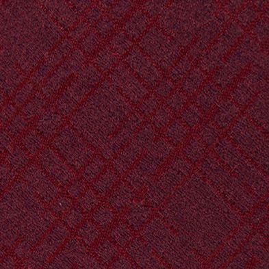 Mens Designer Ties: Red Calvin Klein Broken Plaid Tie