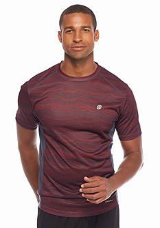 SB Tech Short Sleeve Thin Wavy Crew Neckline Shirt
