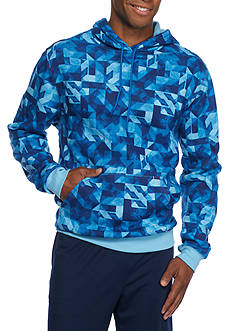 SB Tech CoolPlay Geo Print Fleece Hoodie