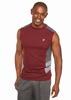 SB Tech Run Muscle Tee With Solid Panels
