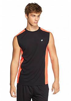 SB Tech Sleeveless Shirt With Solid Side Panel