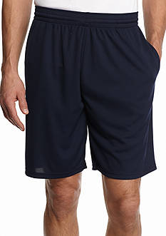 SB Tech Big & Tall Solid Mesh Shorts