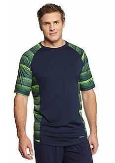 SB Tech Big & Tall Side Printed Crew Shirt