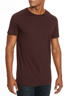 Kenneth Cole Striped Short-Sleeve Tee
