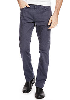 Kenneth Cole Slim 5-Pocket Pants