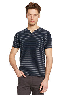 Kenneth Cole New York Stripe Henley Shirt