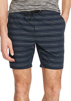 Kenneth Cole New York Horizontal Stripe Pull On Shorts