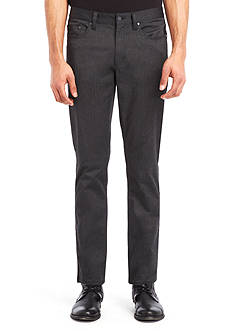 Kenneth Cole New York Straight-Fit Stretch Hybrid Pants