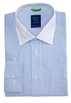 Haspel Stripe Slim Dress Shirt