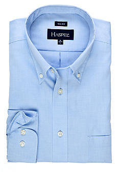 Haspel Blue Non-Iron Dress Shirt
