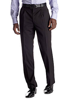 Adolfo Classic Fit Black Stripe Suit Separate Pants