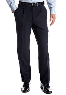 Adolfo Classic Fit Navy Neat Suit Separate Pants