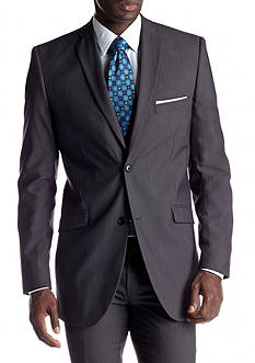 Adolfo Slim Fit Charcoal Suit Separate Coat