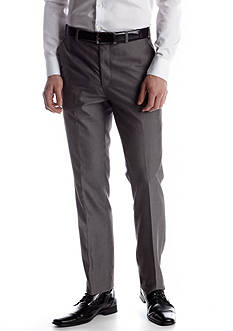 Adolfo Slim Fit Silver Suit Separate Pants