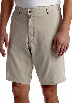 Saddlebred Flat Front 10 Twill Shorts