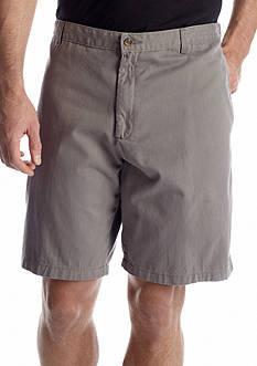 Saddlebred Big & Tall Flat Front Twill Shorts