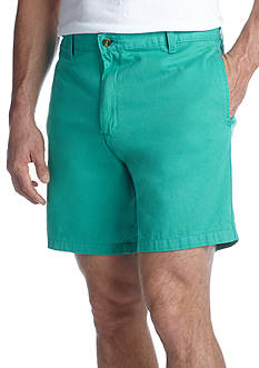 Saddlebred 7-in Flat Front Twill Shorts