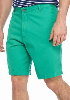 Saddlebred 9-in. Flat Front Shorts