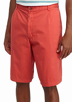 Saddlebred Big & Tall 11-in. Pleated Shorts
