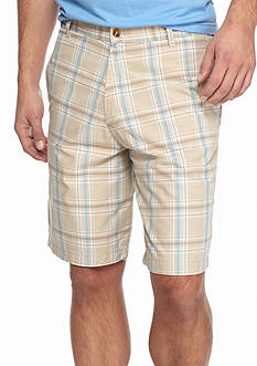 Saddlebred 9-in. Plaid Shorts