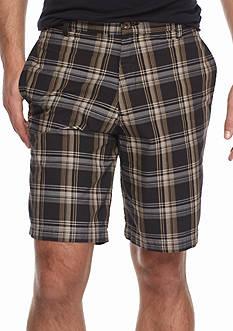 Saddlebred 9-in. Plaid Shorts