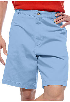 Saddlebred Cell Pocket Flat Front Shorts