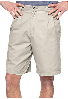Saddlebred Cell Pocket Pleated Shorts